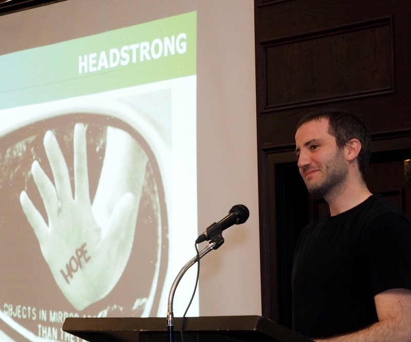 On the mic @ Headstrong Summit. 3/31/2015